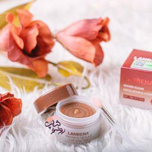 ماسک اسکراب و لایه بردار شکر قهوه ای لانبنا(ویژه مراقبت لب)