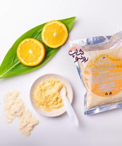 ماسک پودری مدل پودر طلا و پرتقال